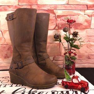 Keen Scots Wedge Boots